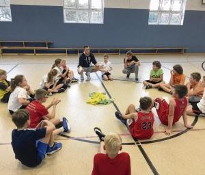 Korbjäger hoffen nach Schulbasketball auf Zuwachs
