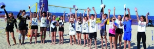 1. Kids Beachcup: Gelungene Premiere beim 6. INCHEZplus Mixed Cup