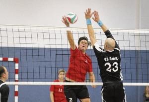 Einheit-Volleyballer starten die Mission Wiederaufstieg