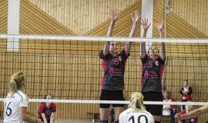 Volleyballerinnen verlieren Rang zwei
