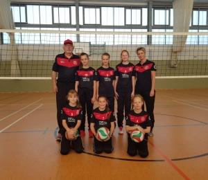 Guter Saisonstart für Einheits Volleyball-Kids