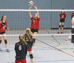 Versöhnlicher Abschluss für Volleyballerinnen