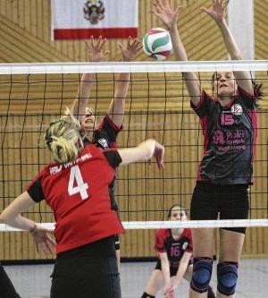 Volleyballerinnen haben weiter das Treppchen im Blick
