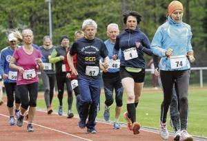 68 Sportler beteiligten sich am Bahnlauf