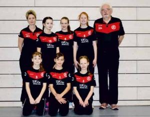 Tolles Finale der Volleyball Landesmeisterschaft U14 weiblich