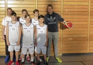 Basketballer stellen sich dem olympischen Schulvergleich